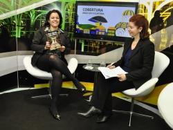Fatima Merlin é entrevistada pela Newtrade